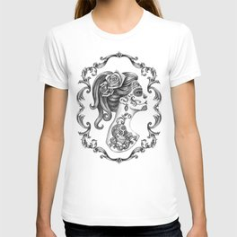 Sugar Skull Girl Cameo T-shirt