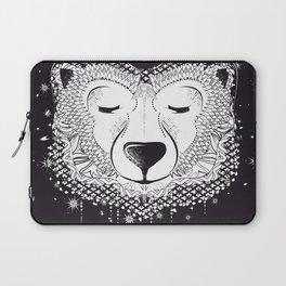 Dreaming Polar Bear Laptop Sleeve