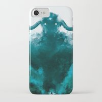 shadow of the colossus iPhone & iPod Cases featuring The Colossus by kriztille