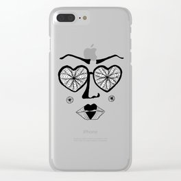 Dollface Clear iPhone Case
