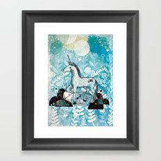 Unicorn Framed Art Print