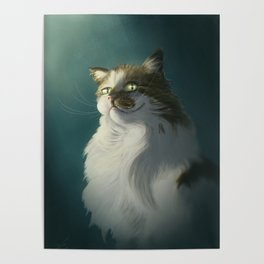 Sly cat Poster