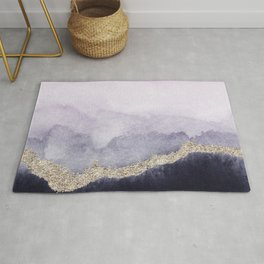 Abstract Marble Landscape Rug