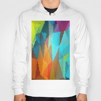 stained glass Hoodies featuring Stained Glass  by Latidra Washington