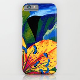 Let's Go Abstract iPhone Case