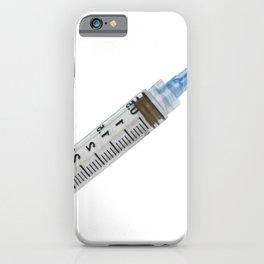 Syringe Used Pump Plunger Piston Cylindrical Tube Barrel iPhone Case
