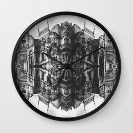 City mirror Wall Clock