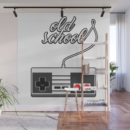Old School Video Game Novelty Wall Mural