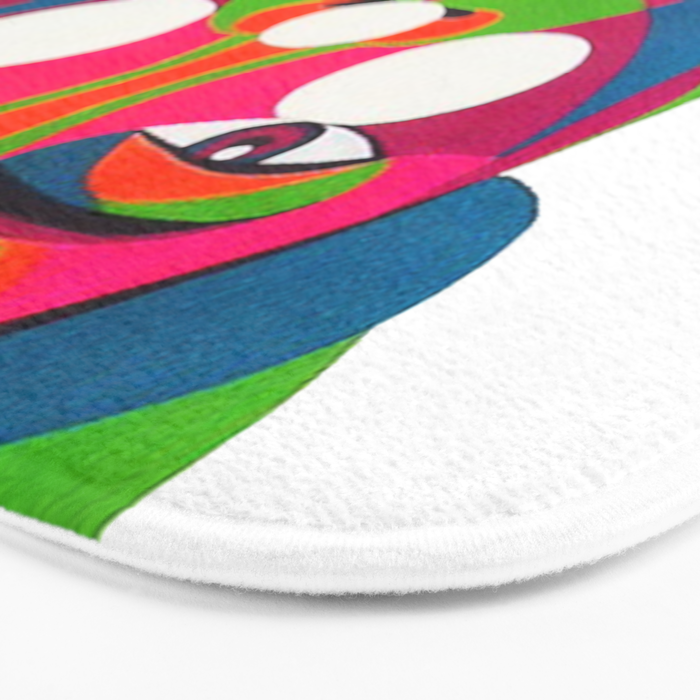 Palenquera es color Bath Mat