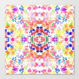 Floral Print - Brights Canvas Print