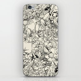 SKULLS 5 HALLOWEEN SKULL iPhone Skin