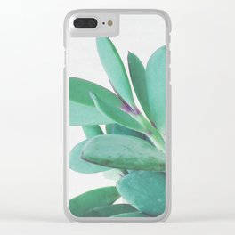Crassula II Clear iPhone Case