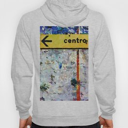 Borrello: road sign and clothes pegs Hoody