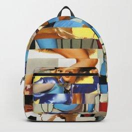 Glitch Pin-Up Redux: Yasmin & Yardley Backpack
