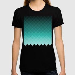 Ombre squares T-shirt