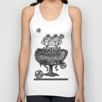 gothic Tank Tops featuring Gothic Twins by AKIKO