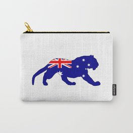 Australian Flag - Tiger Carry-All Pouch