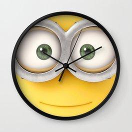 minion smile Wall Clock