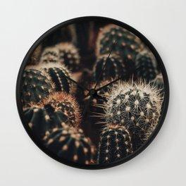 Cactus Mix Wall Clock