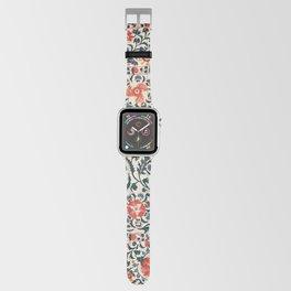 Shakhrisyabz Suzani  Uzbekistan Antique Floral Embroidery Print Apple Watch Band