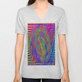 Color bytes Unisex V-Neck