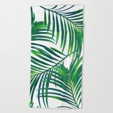 Palm Paradise #society6 #decor #buyart Beach Towel