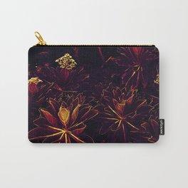 Black Flowers - Underworld Botanic Carry-All Pouch