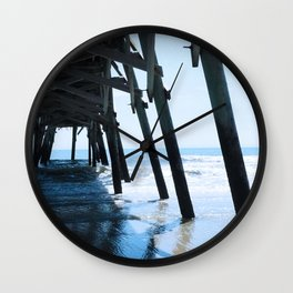Where the Sky Meets the Sand Wall Clock