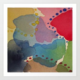 Abstract Mini #13 Art Print