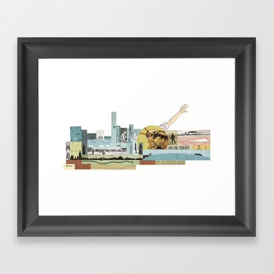 Arm Hopper Framed Art Print