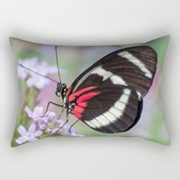 Spring Butterfly Garden Photo Rectangular Pillow