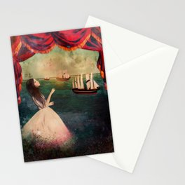 claire voyance Stationery Cards