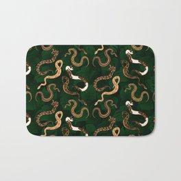 Plenty of Pythons (Jungle) - Emerald Bath Mat