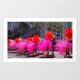 San Francisco Gay Pride Parade Art Print