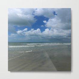 Dramatic Sky Over Litchfield Beach Metal Print