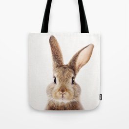 Baby Rabbit, Baby Animals Art Print By Synplus Tote Bag