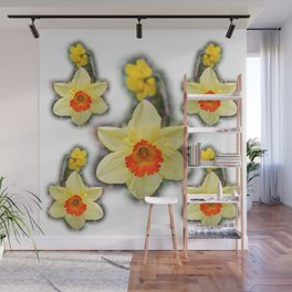 Daffodils in the Woods Wall Mural