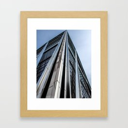 Skyscraper Kio Tower Madrid Framed Art Print