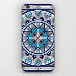 Sacred Places Blue iPhone Skin