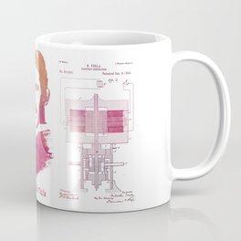 Nikola Tesla - Apparatus for aerial transportation Coffee Mug