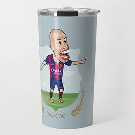 Mascherano - Barcelona v1 Travel Mug