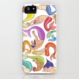 Mermen iPhone Case