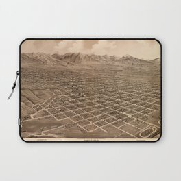 Map Of Salt Lake City 1875 Laptop Sleeve