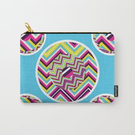 Hipster Chevron Carry-All Pouch