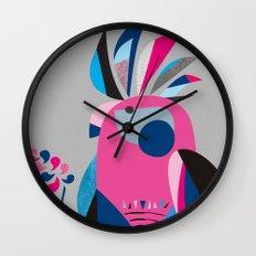 Miss Galah Wall Clock