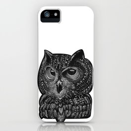 Cool owl iPhone Case
