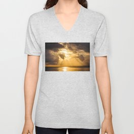 Thoughts of You Unisex V-Neck