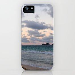 Beachside Mornings iPhone Case