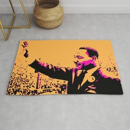 Martin Luther - The Great - Society6 BLM Online Art Shops - Dr King - Jr. Michael 5566 Rug