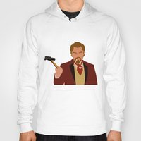 calvin and hobbes Hoodies featuring Calvin Candie - Django Unchained by Tom Storrer
